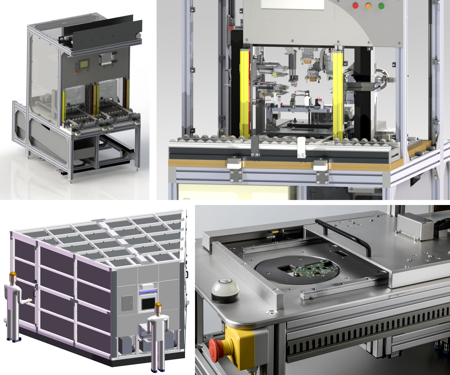 Automation Solution Econ Engineering Laser Cutting Machine For Printed Circuit Boards With Inline Measuring In Line Inspection And Testing Elevates The Product Quality To A Continued High Level Of Standard At We Are Able Cover